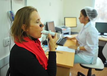 астма фото - лечение