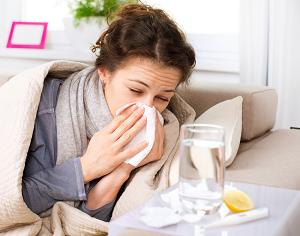 Лечение гриппа и простуды катушками Мишина